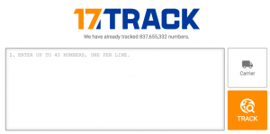 Tracking 17track