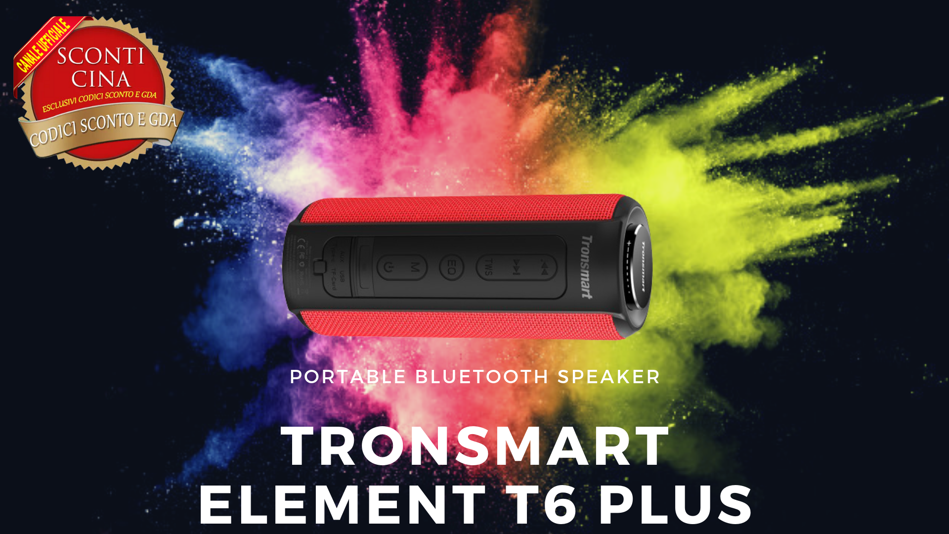 Tronsmart Element T6 Plus: la nuova generazione di altoparlanti bluetooth!