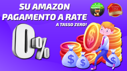 [GUIDA] Come acquistare a rate su Amazon Italia