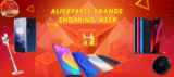 ALIEXPRESS BRANDS SHOPPING WEEK: Un fine Agosto con sconti CALDISSIMI