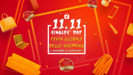 11.11 Global Shopping Festival: il Black Friday cinese con MEGA SCONTI